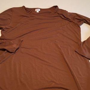 3xl Debbie dress, LuLaRoe solid brown